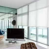 Modern Window Treatment Miami