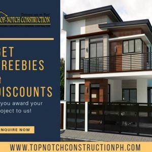TopNotch Construction, we build your dream homes as how you envision it!
